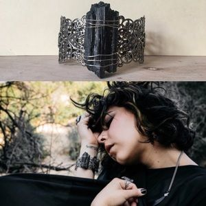 Jewelry - Black Tourmaline Cuff